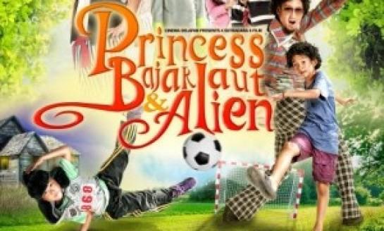 Sinopsis : Princess, Bajak Laut dan Alien (2014)