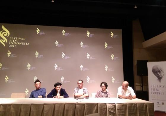 Pemenang Kategori Non Bioskop FFI 2015